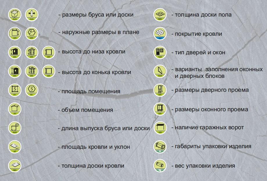 Информация об иконках